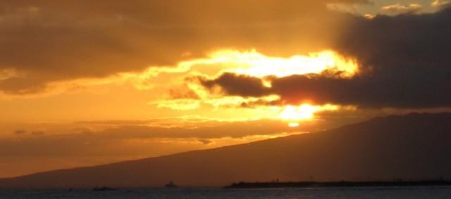 Oahu Sunset Organic Hawaii