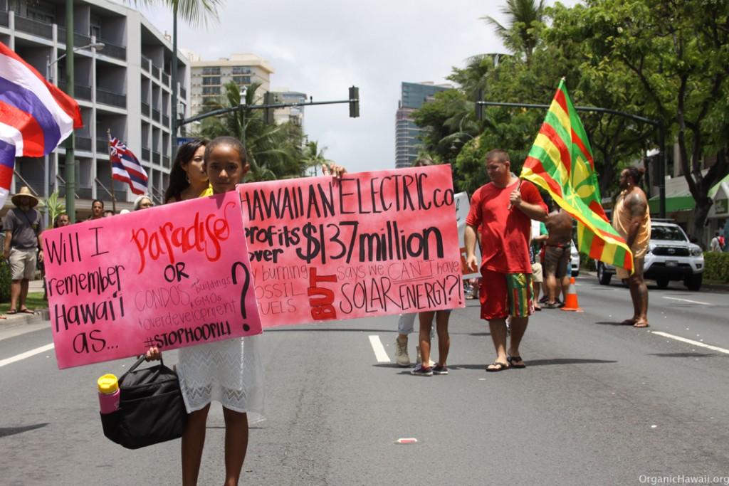 Aloha Aina March Waikiki Hawaii 8.8.15 201520150809_0318