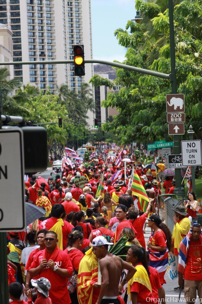 Aloha Aina March Waikiki Hawaii 8.8.15 201520150809_0481