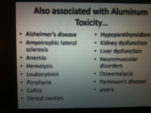 aluminum toxicity