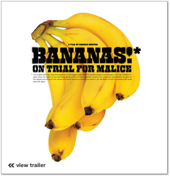 Cavendish Bananas on the cover of Bananas* movie